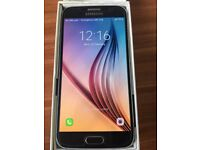 New Samsung galaxy S6, 32gb blue