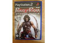 PlayStation 2 Prince of Persia warrior within