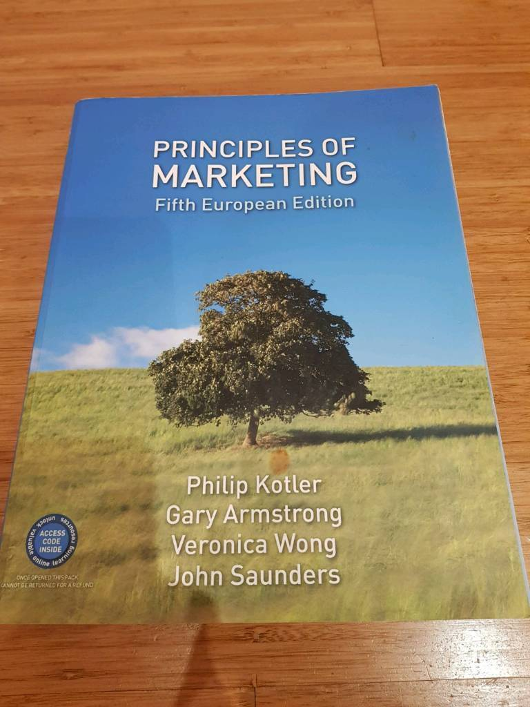 Principles Of Marketing Textbookin Hornchurch, LondonGumtree - I used this book as part of a university degree. It covers a huge amount of information, as you can see by the contents page. The book it is in good condition