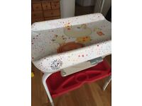 Baby bath and changing table (foldable)