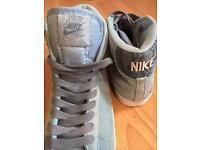 Nike blazer baby blue women size 5.5 uk
