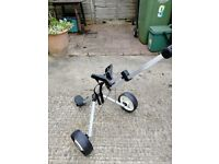Kids golf trolly used once in brand new condition
