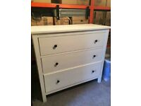 IKEA HEMNES cream white chest of drawers, CAN DELIVER