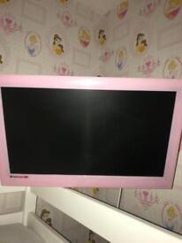 """Pink 19"""" tv/dvd"""