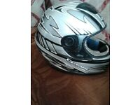 CHILDS MOTORBIKE HELMET