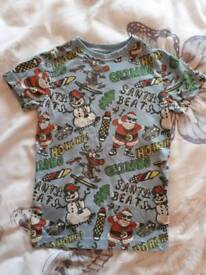 Christmas t-shirt - Age 4