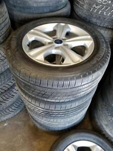 235 55 17 on OEM Ford Escape Fusion alloy rims 5x108 TPMS $1000 / 215 55 16 on OEM Ford Focus alloy rims 5x108 TPMS $800