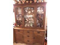 Beautifully Figured,Late Victorian,Carmarthenshire Oak Dresser (c.1880)
