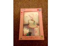 Hello kitty card making gift set Brand new