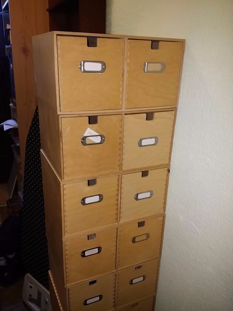 ikea moppe cd double drawers, plywood | in cambridge
