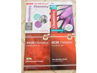 NEW GCSE 9-1 AQA CHEMISTRY REVISION AND PRACTICE TEXTBOOKS AND WORKBOOKS
