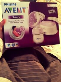 Philips Advent electric breast pump, NEW