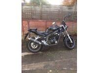 Hyosung gt 125 p very clean bike One year old hardly used,quick sale required