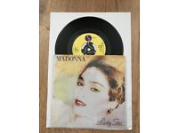 "Madonna Lucky Star 7"" in unique sleeve"
