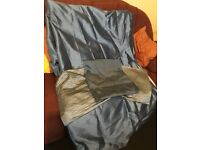 Torquoise teal full length curtains and pillow cases