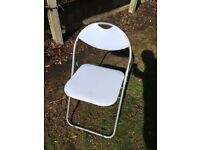 Foliding chairs 20 available £5 each