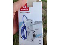 Brand new Havells C32 amp RCBO's