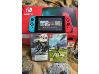 Nintendo Switch and 8 games bundle!