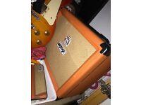 Orange crush guitar amp
