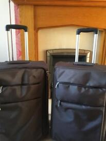 2xLarge suitcases very light