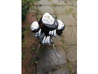 Golf clubs full set plus bag