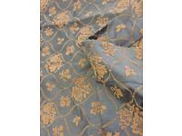 Vintage Silk Curtains Fabric Material