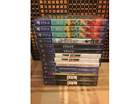 13X PLAYSTATION 4 GAMES - ALL BRAND NEW & SEALED FOR PS4