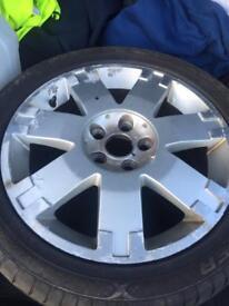 17 inch ford alloy wheel