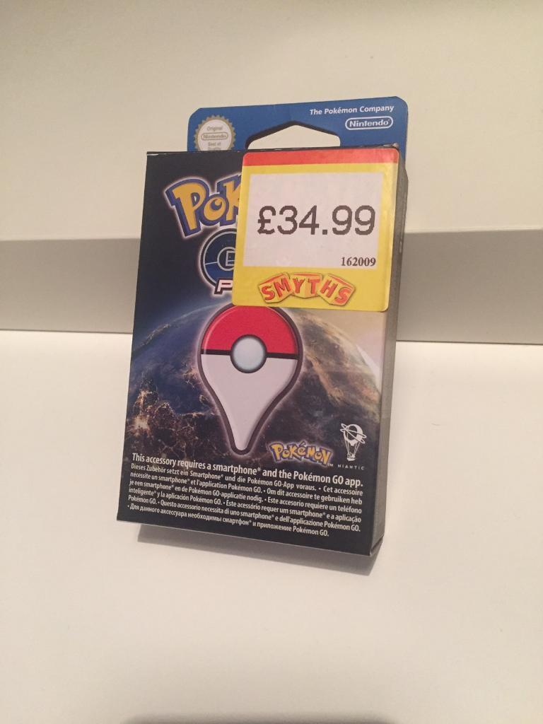 Pokémon go plus (near new)