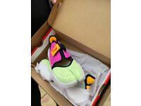 W rift aqua Nike rare trainers (bulwell)