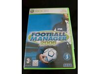 Xbox 360 Live Football Manager game