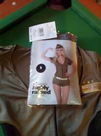 Ann summers Highly ranked army girl outfit - halloween