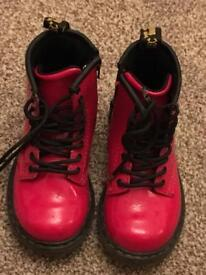 Toddler Brooklee Dr Martens size 7