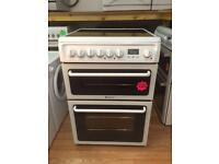 ***Hotpoint white 60cm ceramic cooker***Free Delivery**Fitting**Removal