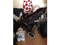 Phil and teds double push chair