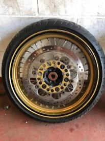 "Supermoto 17"" wheels"