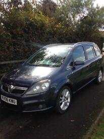 Vauxhall zafira design 1.9 cdti