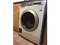 AEG 9Kg Wash 7Kg Dry Freestanding Washer Dryer - White (L87695Wd)