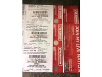 Beyoncé & jay z Glasgow hampden tickets