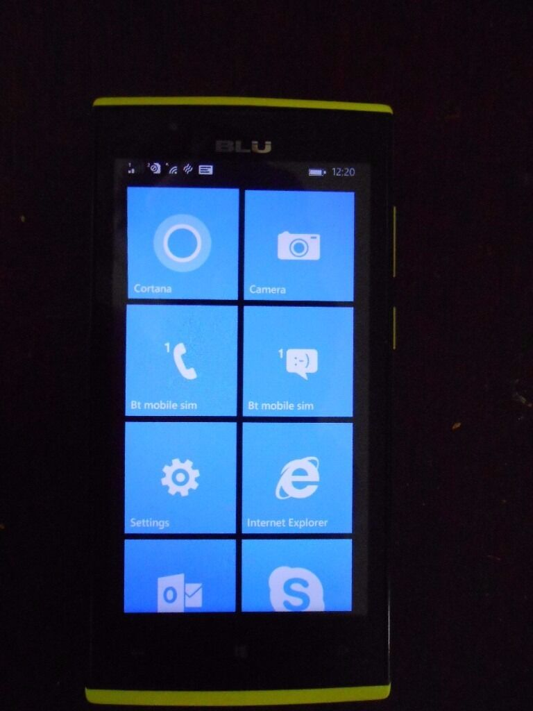 UNLOCKED WINDOWS 8,1 JR LTE 4 G smart phonein Llanelli, CarmarthenshireGumtree - UNLOCKED Windows 8.1 smartphone with charging cable , screen protector and case and box in good working order . SOLD AS SEEN