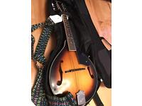 Ozark A Mandolin with Case and Music Book