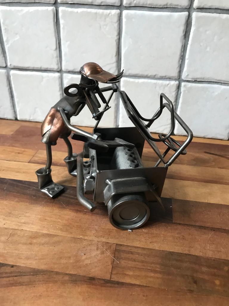 Ornamental Metal Mechanic Figure