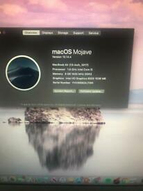 Apple MacBook Air 13' Core i5 1 6GHz 8gb Ram 128gb SSD Ableton