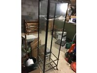 Ikea Klingsbo Glass display cabinet complete with key