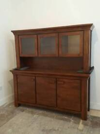 Large solid wood sideboard unit