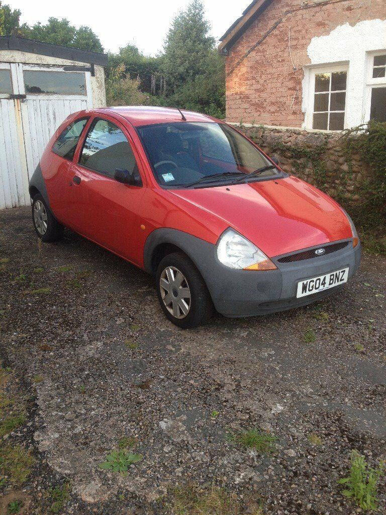 FORD KA HATCHBACK 3 DOOR (RED) - DRIVES SO COULD BE REPAIR OR SPARES