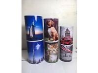 Wholesale-Resellers-24 X MONEY TIN MONEY BOX DUBAI LONDON DOG CAT