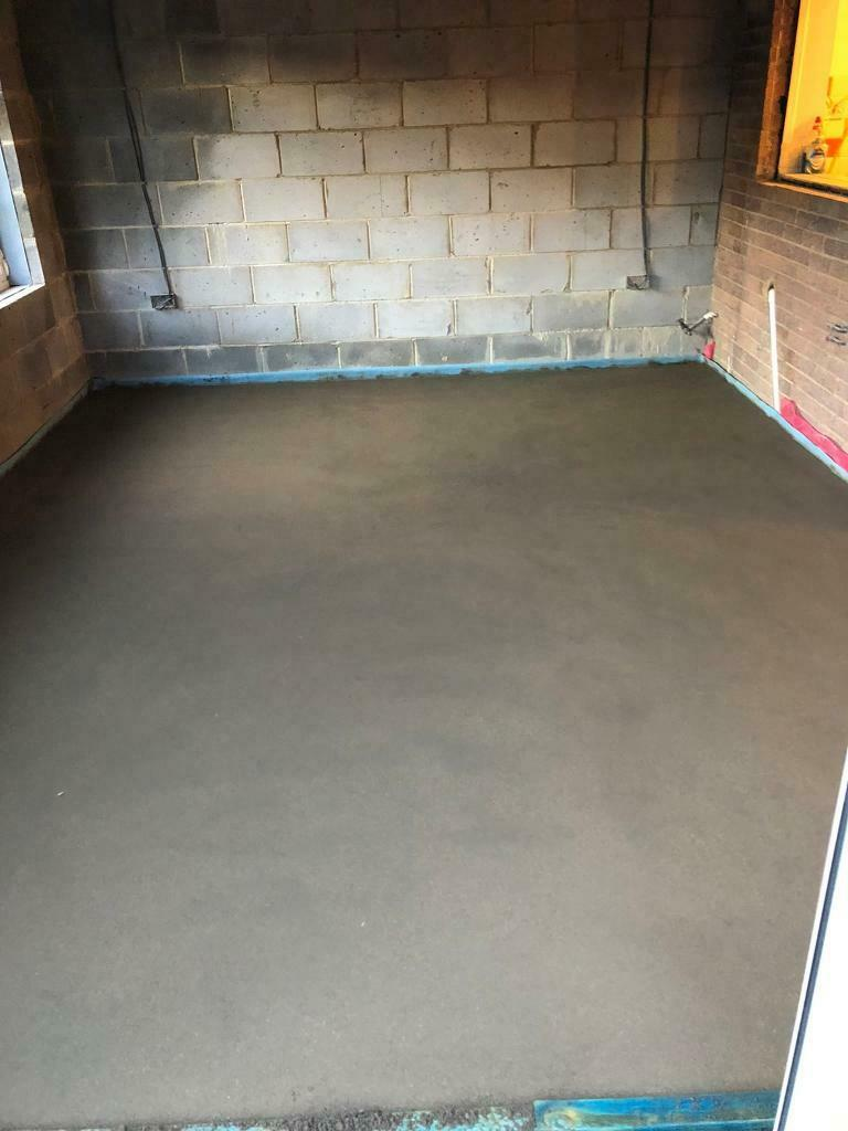 Floor Screeding and underfloor heating