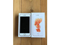 IPHONE 6S ROSE GOLD 64GB UNLOCKED FOR SALE