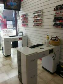 NAIL SALON FOR RENT/SALE